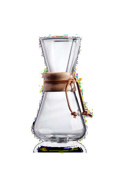 Chemex-Karaffe für 1 bis 3 Tassen