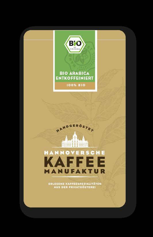 Bio Arabica Kaffee (entkoffeiniert)