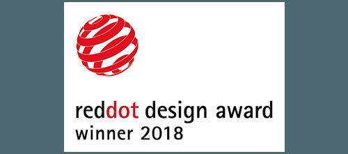 reddot design award winner 2018