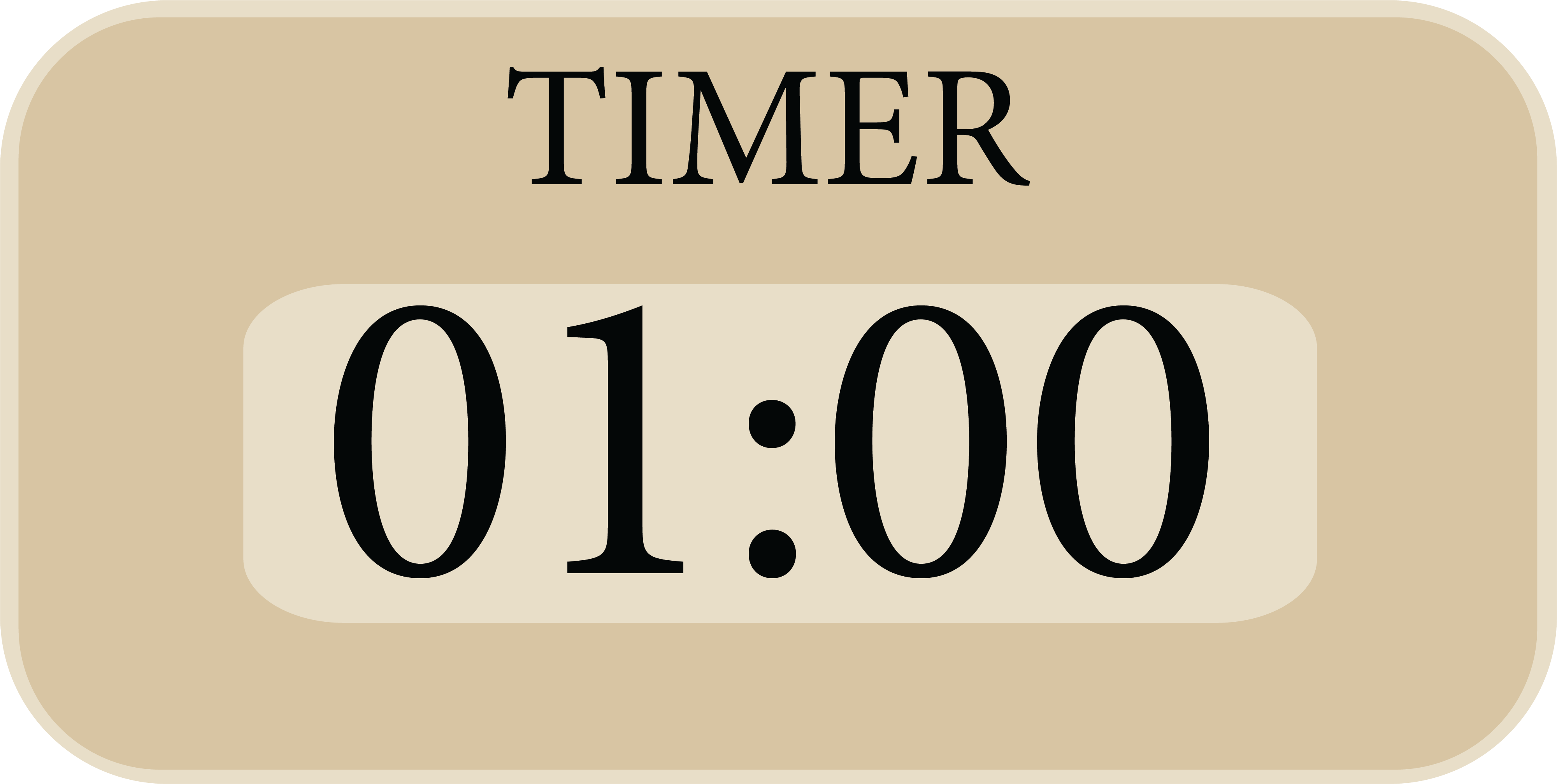 Timer 1:00 Minute