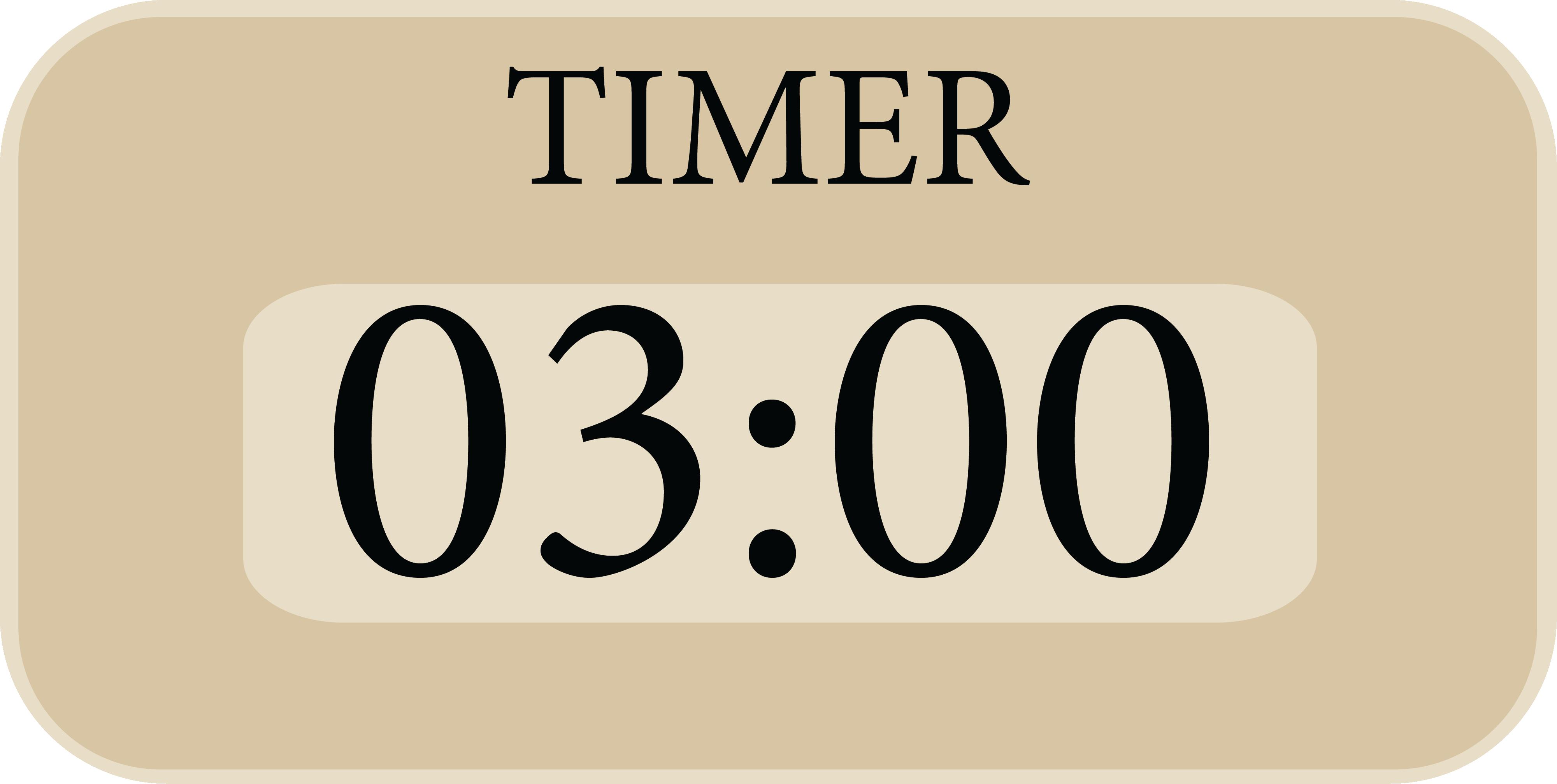 Timer 1:00 Minuten