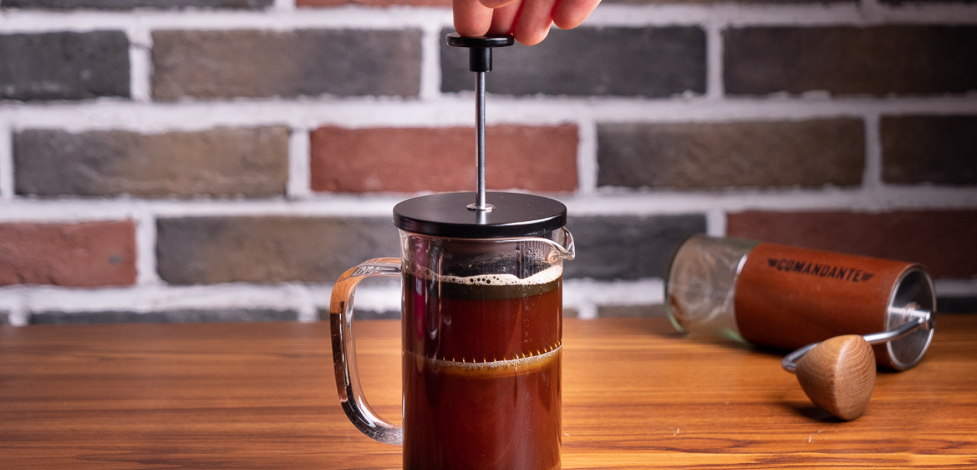 French Press Anleitung